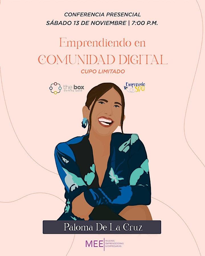 Imagen de Conferencia de Paloma De La Cruz en Emprende SDQ