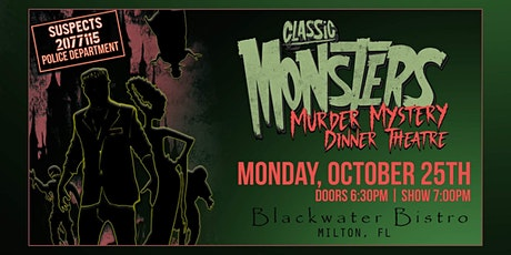 Classic Monsters - Murder Mystery Dinner Theatre tickets