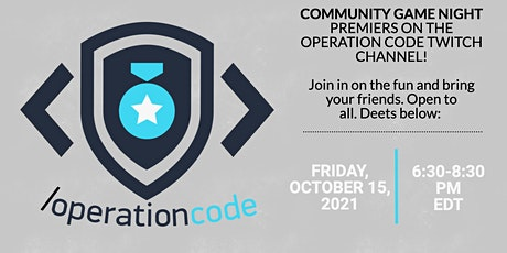 OC Community Game Night on Twitch! tickets