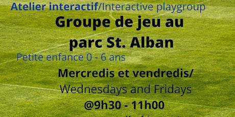 Groupe de jeu au Parc St. Alban tickets