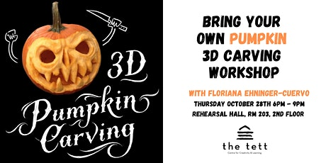 Bring Your Own Pumpkin // 3D Carving Workshop tickets