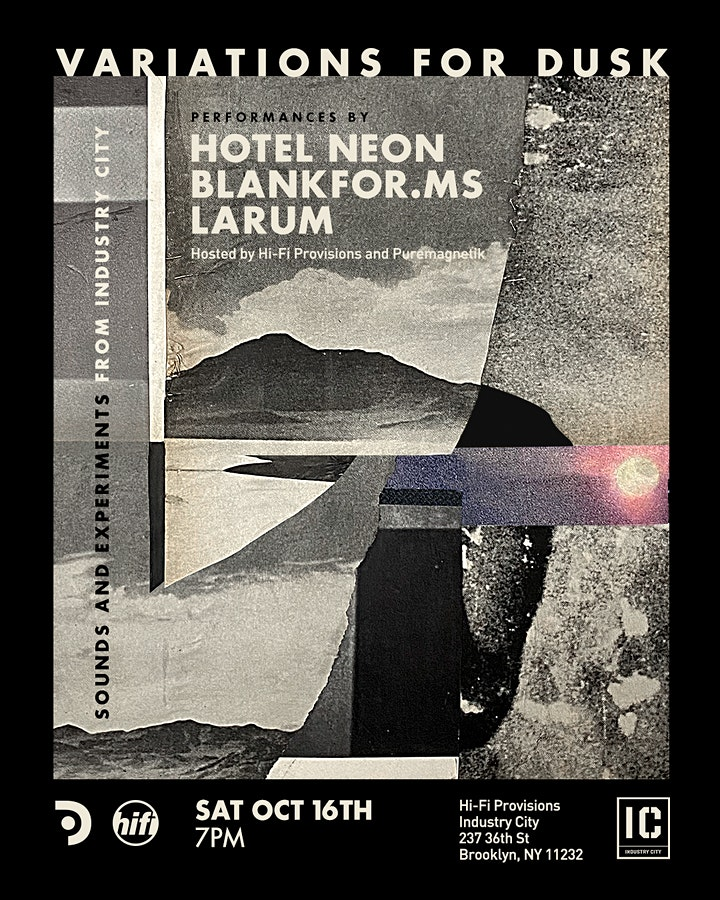 Variations for Dusk - Hotel Neon, BlankFor.ms, Larum image