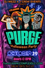 PURGE HALLOWEEN PARTY tickets