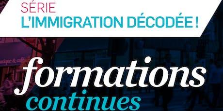 FORMATION CONTINUE - PERMIS DE TRAVAIL TEMPORAIRE - Niveau 2 (PTT2) tickets