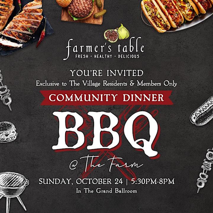 Farmer's Table NPB October Community Dinner image