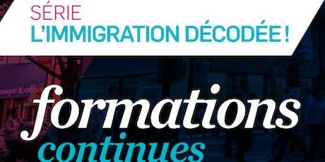 FORMATION CONTINUE - PERMIS DE TRAVAIL TEMPORAIRE - Niveau 3 (PTT3) tickets