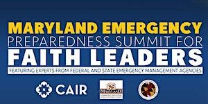 Maryland Emergency Preparedness Summit for Faith Leader...