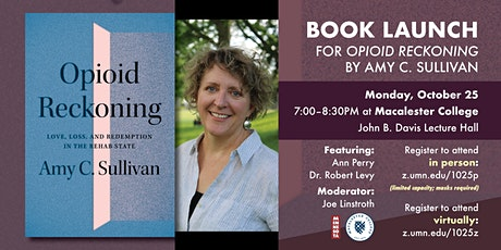 OPIOID RECKONING book launch event with Amy C. Sullivan tickets