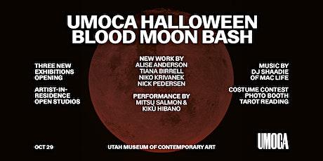 UMOCA HALLOWEEN BLOOD MOON BASH tickets