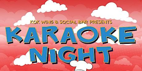 Karaoke Night at KOK(Every Thursday) tickets