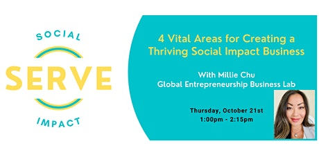 4 Vital Areas for Creating a Thriving Social Impact Business tickets