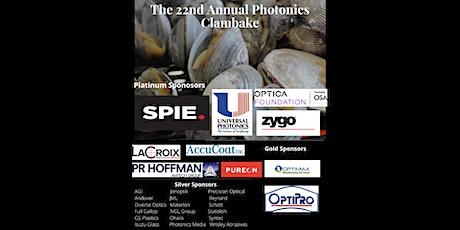 22nd Annual Photonics Clambake - Optifab 2021 tickets
