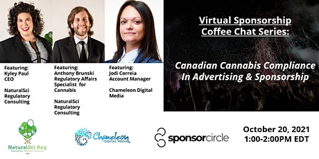 Virtual Coffee Chat - Cannabis Compliance In Advertising & Sponsorship tickets