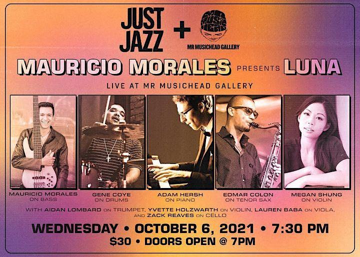 Just Jazz Presents Mauricio Morales @ Mr Musichead Gallery image