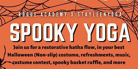 Spooky Yoga tickets
