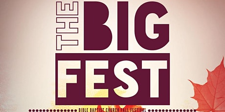 The BIG Fest • Trunk or Treat tickets