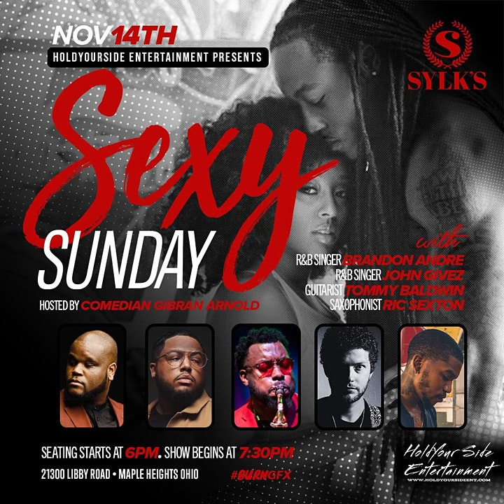 Sexy Sunday an R&B Experience presented by HoldYourSide Ent. image