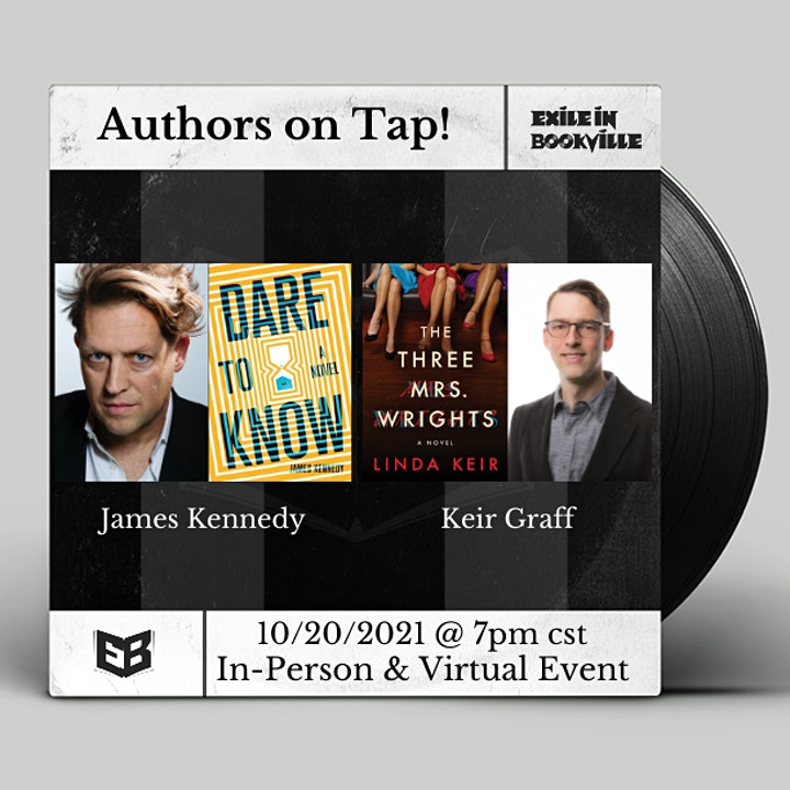 Authors on Tap:  James Kennedy and Keir Graff image