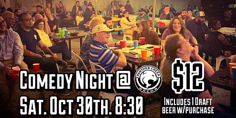 Comedy Night @ Panther Creek Brews tickets