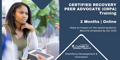 Certified Recovery Peer Advocate (CRPA) Training Info Session tickets