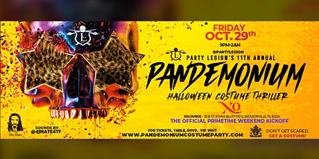 "Halloween Costume Party ""Pandemonium 11"" tickets"
