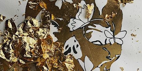 Butterfly Skull Paint | Sip | Create tickets