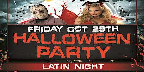 Halloween Party Latin Night! DJ Mix, Dance Lesson, Free Parking! tickets