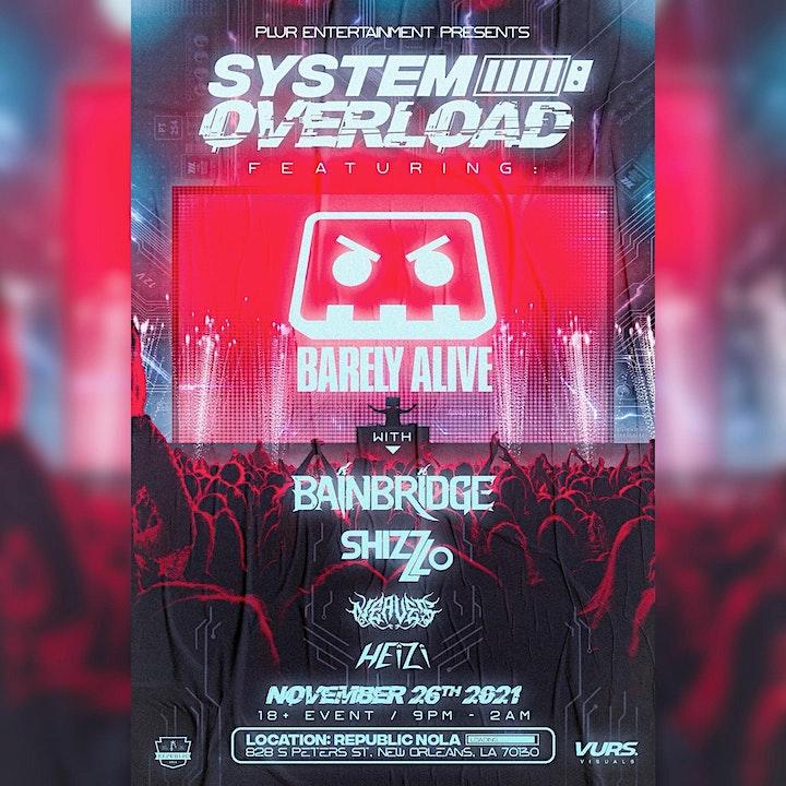SYSTEM OVERLOAD: Barely Alive image