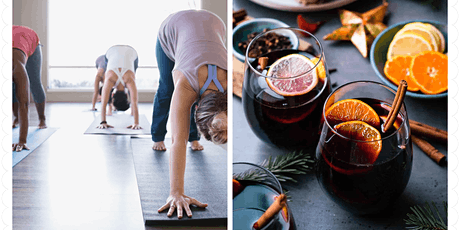 Mulled wine meditation and yoga flow tickets