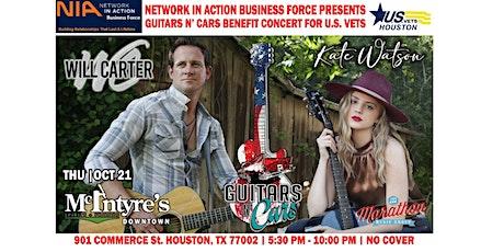 Guitars N' Cars Wrap-up Concert Benefitting U.S. Vets-Houston tickets