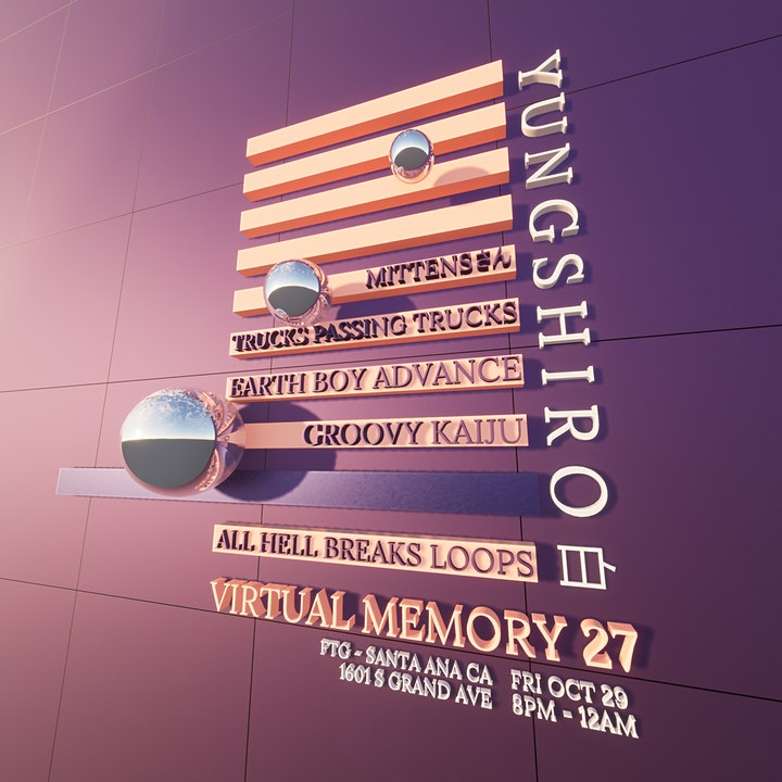 Virtual Memory 27: Vaporwave and Future Funk Party! image