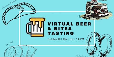 Beer Club: October Virtual Beer & Bites Tasting Tickets