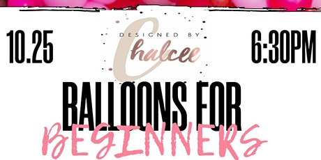 Balloons for Beginners tickets