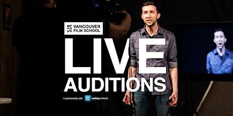 VFS Acting Program Live Audition Tour tickets