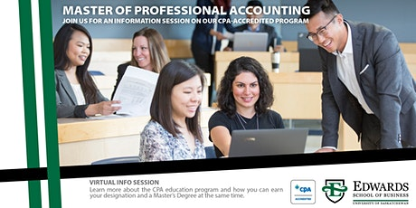 Master of Professional Accounting (MPAcc) - UVic Info Session tickets