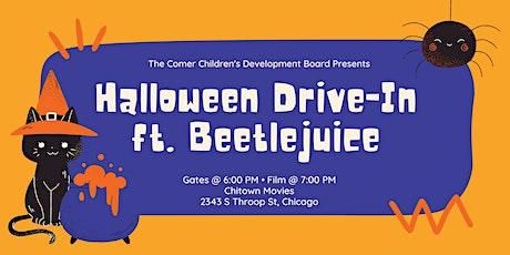 Halloween Drive-In Movie Fundraiser for Comer Children's tickets