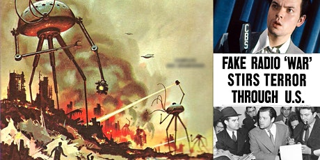 'Mars Attacks! Orson Welles and the Night That Panicked America' Webinar tickets