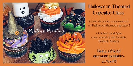 Cupcake Class with Kristen's Kreations at Wildside Winery tickets