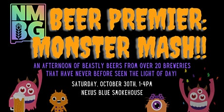 BEER PREMIER: MONSTER MASH! tickets