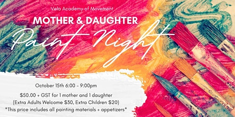 Mother Daughter Paint Night tickets