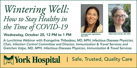 Wintering Well: How to Stay Healthy in the Time of COVID-19 tickets