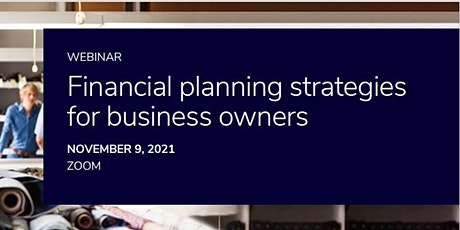 Financial Planning Strategies for Established Business Owners tickets