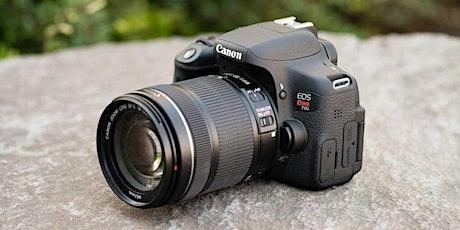 Canon Beginner Class tickets