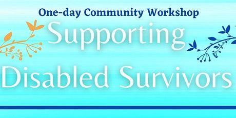 Supporting Disabled Survivors tickets