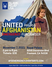 United With Afghanistan - Emergency Fundraiser tickets