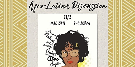 Afro-Latinx Discussion tickets