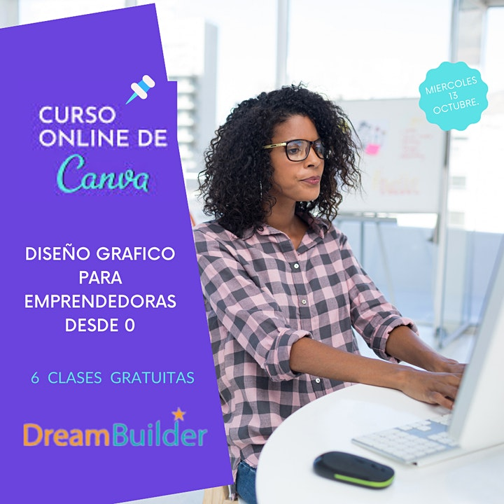 Curso de Canva - Diseño Grafico para Emprendedores desde 0 image