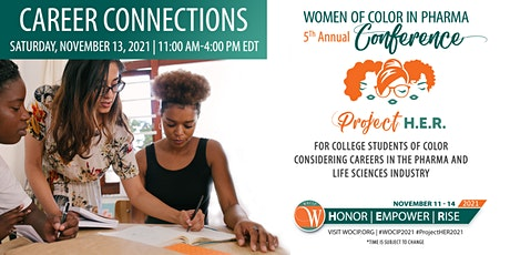 Women of Color in Pharma (WOCIP) Career Connections Micro-Conference tickets