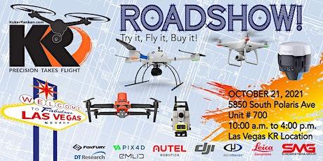 Kuker-Ranken Drone Roadshow - Las Vegas, NV - Try it, Fly it, Buy it! tickets