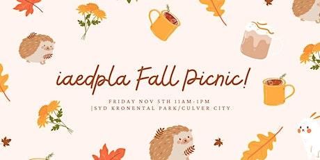 IAEDP LA Fall Picnic: In Person! tickets